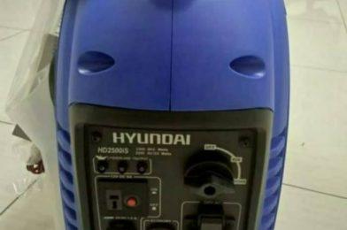 Genset Inverter Hyundai Yang Mudah Dibawa Kemana Saja
